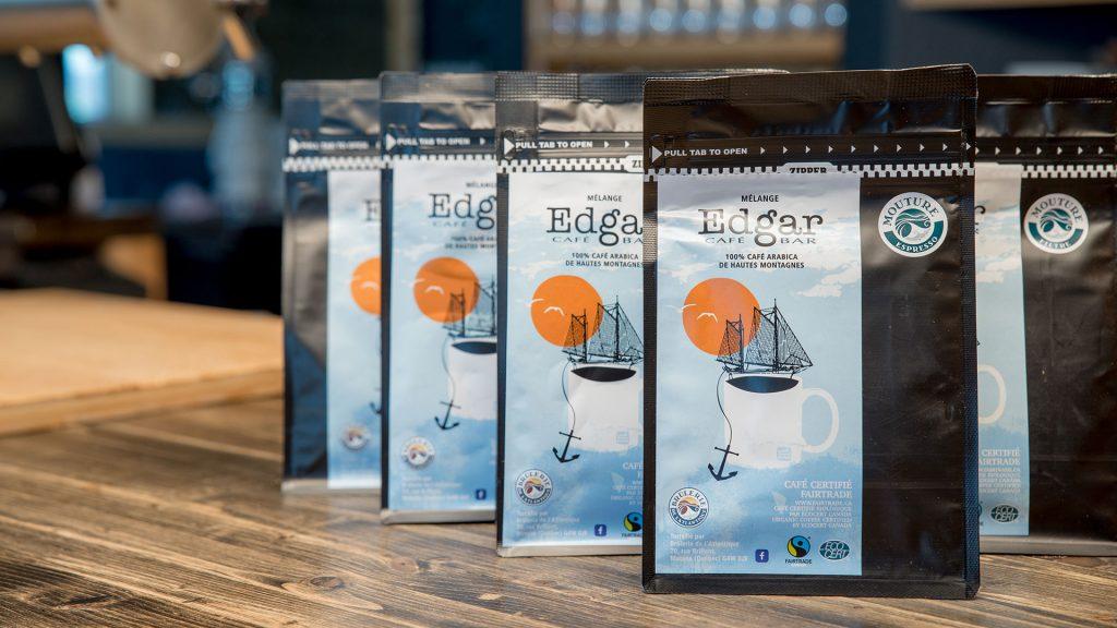 Sachet de café équitable - Mélange spécial d'Edgar Café Bar